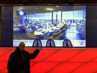 Allianz Arena Führung Presseraum Podest