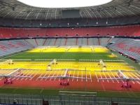 Allianz Arena Führung erster Blick auf das umgebaute Stadion