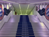 Allianz Arena Führung_so schaut der Weg zum Rasen aus