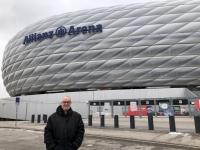 Ankunft bei der Allianz Arena