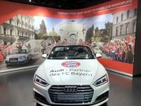 FCB Erlebniswelt Audi Cabrio