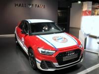 FCB Erlebniswelt Audi Werbeauto