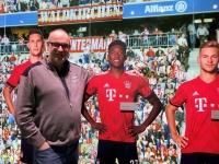 FCB Erlebniswelt mit Alaba