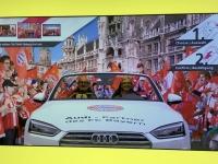 FCB Erlebniswelt mit dem Audi durch München