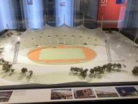 Modell vom Olympiastadion