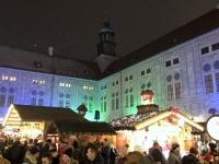 Das Weihnachtsdorf in der Residenz