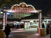 Kurz am Winterzauber am Viktualienmarkt vorbeigeschaut