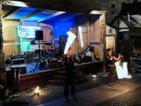 Mittelaltermarkt Wittelsbacherplatz Feuershow