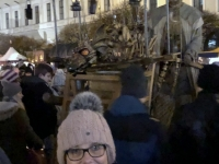 Mittelaltermarkt Wittelsbacherplatz mit Künstler