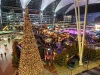 Weihnachts_ und Wintermarkt am Flughafen