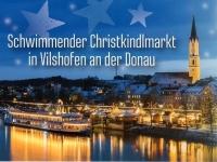 Vilshofen Schwimmender Christkindlmarkt