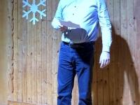 Kapellmeister Bernhard bei seiner Ansprache