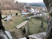 2018 12 29 Burg Predjama Blick von der Burg