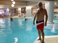 2018 12 29 Portoroz Pool im Hotel Riviera