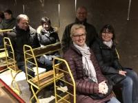 2018 12 29 Postojna Höhle Einfahrt mit dem Zug 2 KM lang