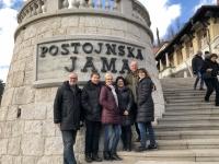 2018 12 29 Postojna Höhle Gruppenfoto