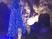 2018 12 29 Postojna Höhle Weihnachtsbaum