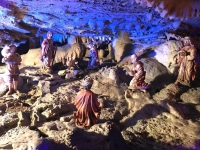 2018 12 29 Postojna Höhle Weihnachtskrippe