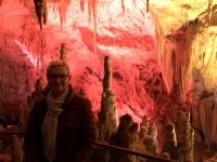 2018 12 29 Postojna Höhle mit Jutta