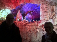 2018 12 29 Postojna Höhle wunderschöne Farben