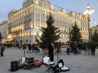 2018 12 30 Triest Piazza Unita del Italia Musiker
