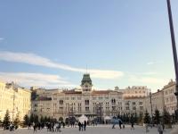2018 12 30 Triest Piazza Unita del Italia größter Platz von Triest