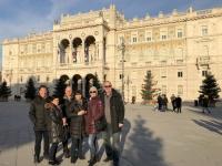 2018 12 30 Triest Piazza Unita del Italia mit Regierungspalast Palazzo del Governo
