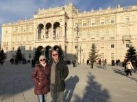 2018 12 30 Triest Piazza Unita del Italia mit Regierungspalast