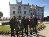 2018 12 30 Triest Schloss Miramare Gruppenfoto