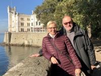 2018 12 30 Triest Schloss Miramare Zugang