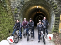 2018 12 31 Fahrt nach Izola durch Tunnel