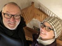 2018 12 31 Piran 140 Stufen auf den Turm der Kirche des Hl. Georg