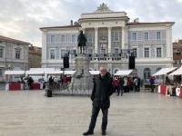 2018 12 31 Piran Tartini Square mit Musikerdenkmal