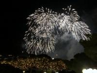 2018 12 31 Portoroz Hotel Riviera Silvester Galaabend Feuerwerk