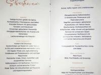 2018 12 31 Portoroz Hotel Riviera Silvester Galaabend Menüplan