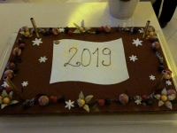 2018 12 31 Portoroz Hotel Riviera Silvester Galaabend Silvestertorte