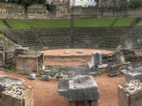 2018 12 30 Triest Forum Romanum mit 2 x Jutta