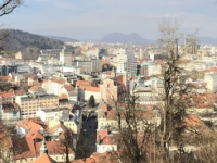 2019 01 01 Ljubljana Blick von der Burg auf die Stadt