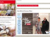 Homepage der Hermann Maier Galerie am 9 1 2019 mit meinem Foto