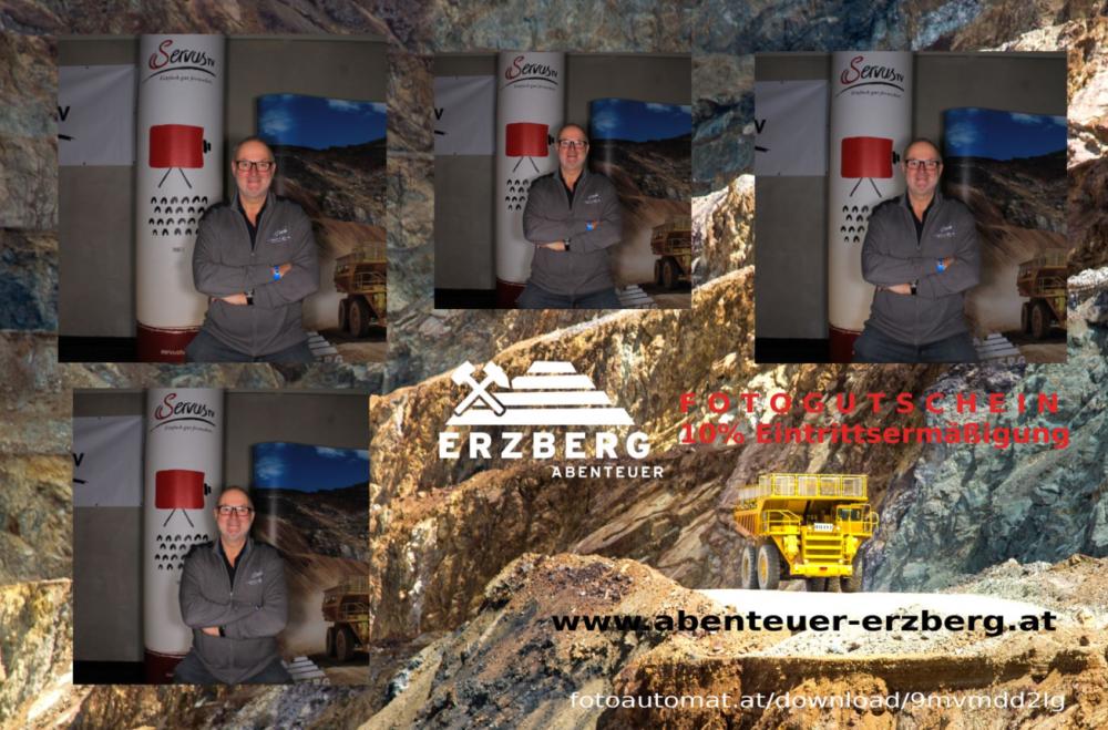 Stand Erzberg Fotocollage