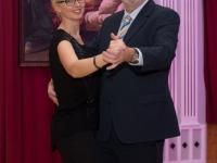 Eröffnungswalzer Obmann mit Partnerin Jutta
