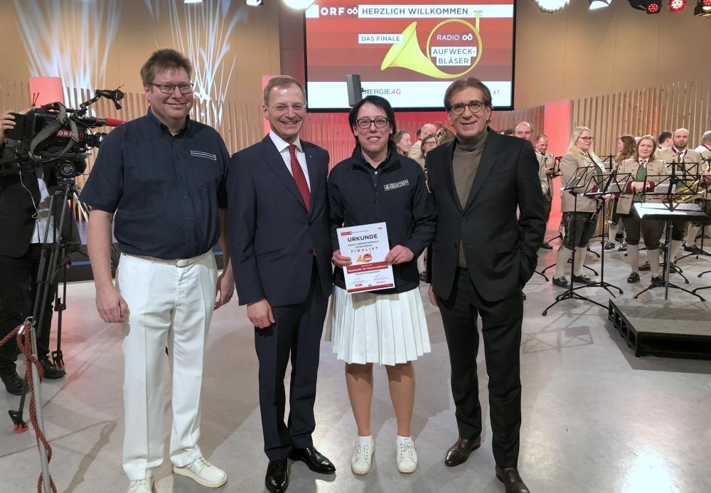 Gratulation von LH Thomas Stelzer und ORF Dir Rammersdorfer