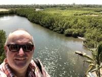 2019 02 12 Makasutu Nebenarm des Gambia River