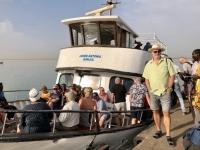 2019 02 14 Abfahrt des Schiffes in Banjul