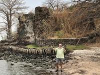 2019 02 14 Gambia James Island Wasserentnahme