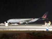 2019 02 17 Flughafen Banjul unser Flieger wartet
