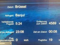 2019 02 17 Flugstrecke nach Brüssel