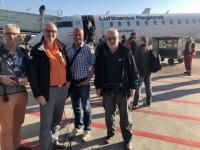 2019 02 18 Brüssel Flughafen Einsteigen in Flieger nach München