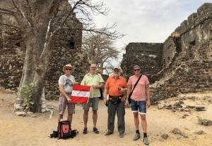 2019 02 14 Gambia James Island Gruppenfoto