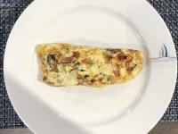Eier Omelette mit Allem